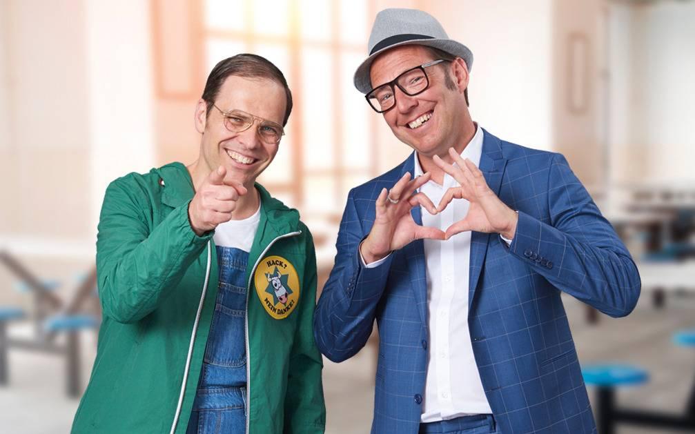Baumann & Clausen Comedy bei Radio Vest